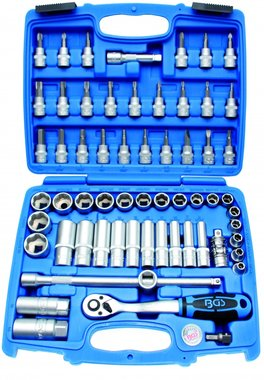 61-piece Socket Set, 3/8