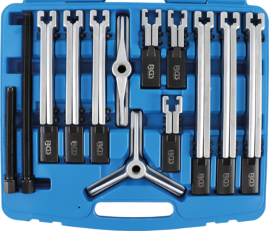 12-piece Puller Set, 2- and 3-Leg