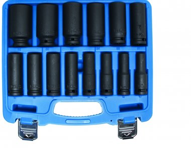 14-piece 1/2 Impact Socket Set, 10-32 mm