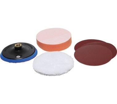 125 mm Grinding and Polishing Set