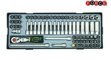 1/4 Socket combination set 74pc