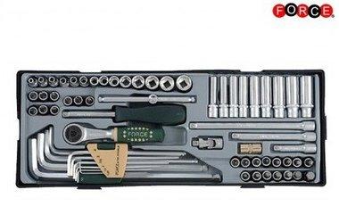1/4 Socket combination set 65pc