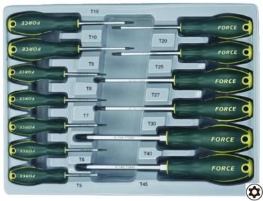 Star tamperproof screwdriver set 13pc