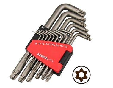 Star tamperproof long key set 15pc
