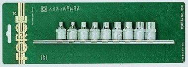 3/8 Star socket set 9pc