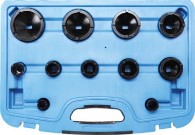 Groove Nut Socket Set outside taps KM0-1-2-3-8-9 11 pcs