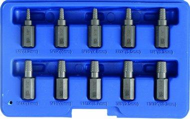 10-piece Screw Extractor Set