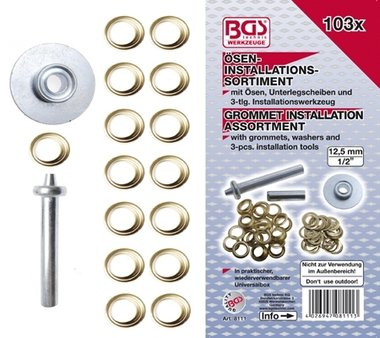 103-piece Grommet Installation Set