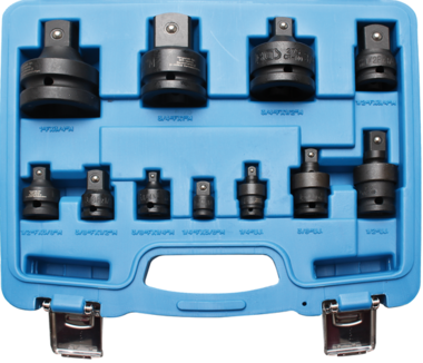 11-piece Impact Adaptor and Universal Joint Set, 1/4 - 1