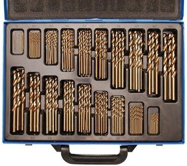 Twist Drill Set | HSS | 5% cobalt alloy | 1 - 10 mm | 170 pcs.