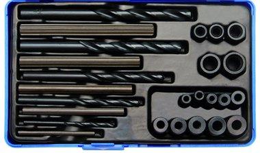 25-piece HSS Screw Extractor Set