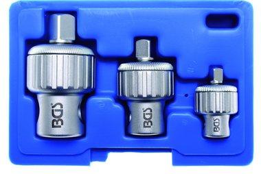 3-piece Ratchet Adaptor Set