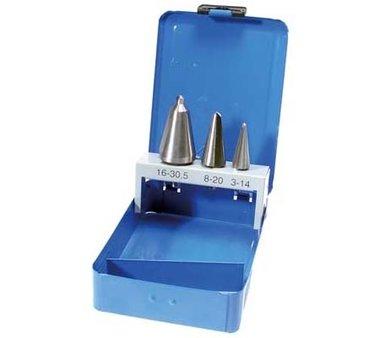 Taper Cutter Set | HSS | 3 Sizes | 3 pcs.