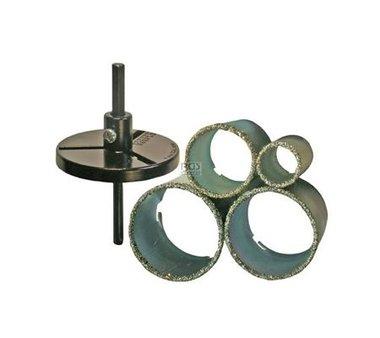 6-piece Holesaw Set, 33-73 mm
