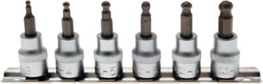 7-piece Bit Socket Set 3-8 mm, 6-pt, 3/8, with ball head