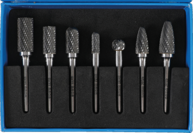 7-piece HSS Miller Cutter Set