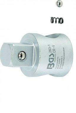 Sliding Adaptor for Extension Bars | external square 20 mm (3/4)
