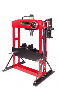 Atelierpers 15t manueel beweegbare cilinder