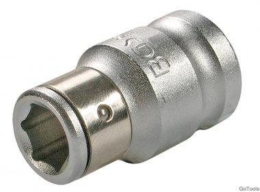 3/8 adapter met behouden van ball, f. 8 mm bits