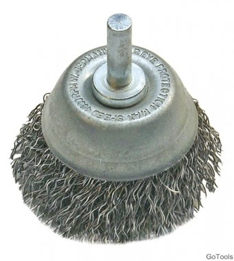 Wire Cup Brush, Diameter 75 mm