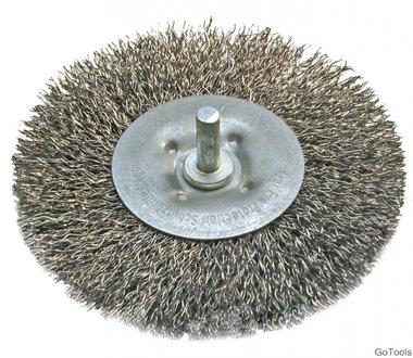 Wire Disc Brush, Diameter 100 mm