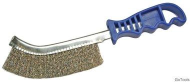Brass Wire Brush, 260 mm