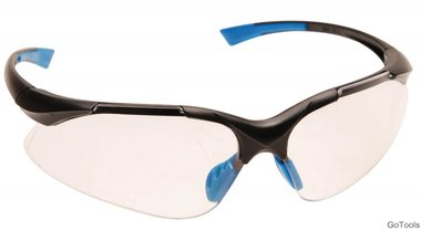 Safety glasses, clear
