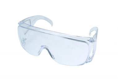 Safety glasses, not tinted