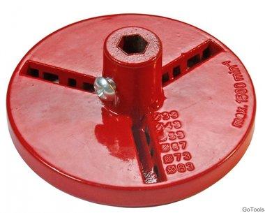 Backing Disc for Tile Driller