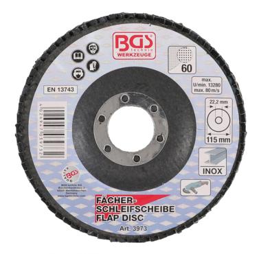 Flap Disc, Ø 115 mm, Grain Size 60