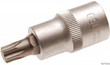 Socket wrench bit 12.5 mm (1/2) T profile (for Torx) T50