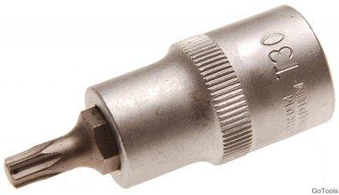 Socket wrench bit 12.5 mm (1/2) T-profile (for Torx) T30