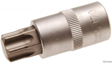 1/2 bit dop Torx 53 mm lang, t70