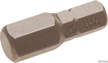 Int. Hex. Bit 10 mm, 30 mm lang, 5/16 drive