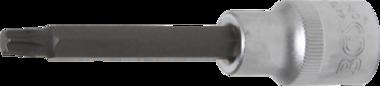 Bit Socket | length 100 mm | 12.5 mm (1/2) drive | T-Star (for Torx) T40