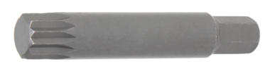 Bit length 75 mm 10 mm (3/8) Drive Spline (for XZN) M14