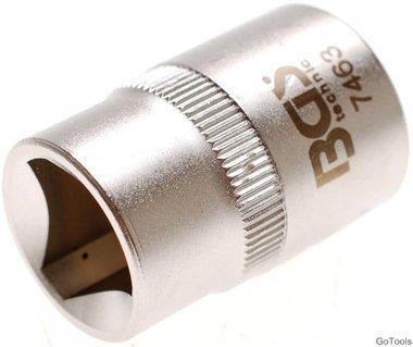 3-pt Socket for Barriers, M10 (15 mm)