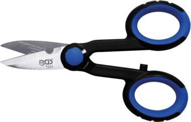 Stainless Steel Electrician's Scissors, 145 mm