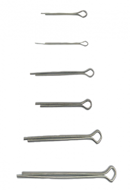 Splint Pin Assortment Ø 1.6 - 4.0 mm 555 pcs.