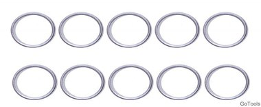 Seal Ring Assortment for BGS 126 Ø 15 / 18.5 mm 20 pcs.