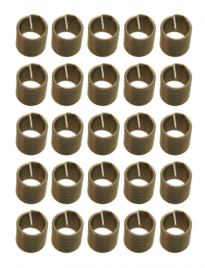 Replacement Thread Inserts M6 x 1.0 - 25 pcs