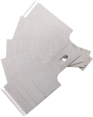 Spare Scraper Blades Set for BGS 364, 0.6 x 20 mm 5 pcs