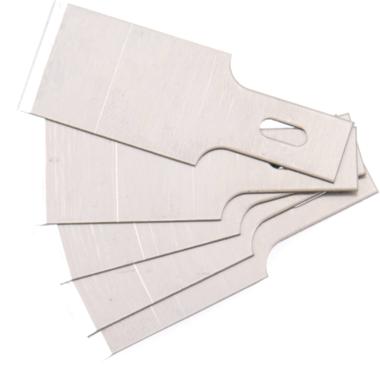 Spare Scraper Blades Set for BGSs 364, 0.6 x 16 mm 5 pcs