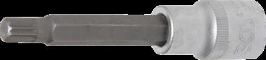 Bit Socket length 100 mm 12.5 mm (1/2) drive Spline (for XZN) M9