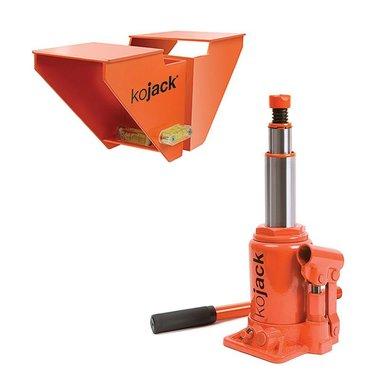 KoJack hydraulic jack with leveller