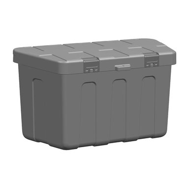 Storage box drawbar plastic 320 x 630 x H355mm incl. mounting kit