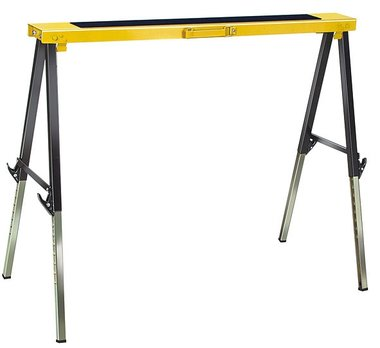 Foldable metal trestle MB 120 KH with quick-release device