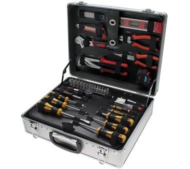 129-piece Tool Set in Aluminum Case