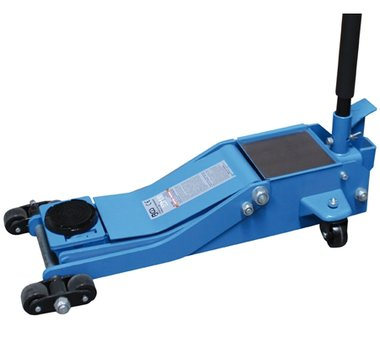 Hydraulic Floor Jack, extra flat, 2 To.