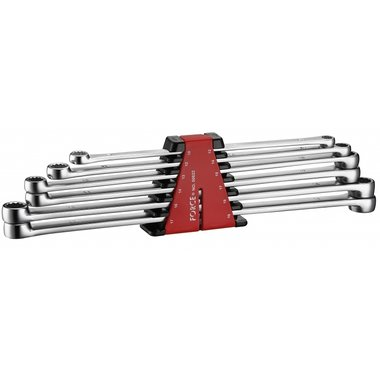 Extra long flat ring wrench set 6pc